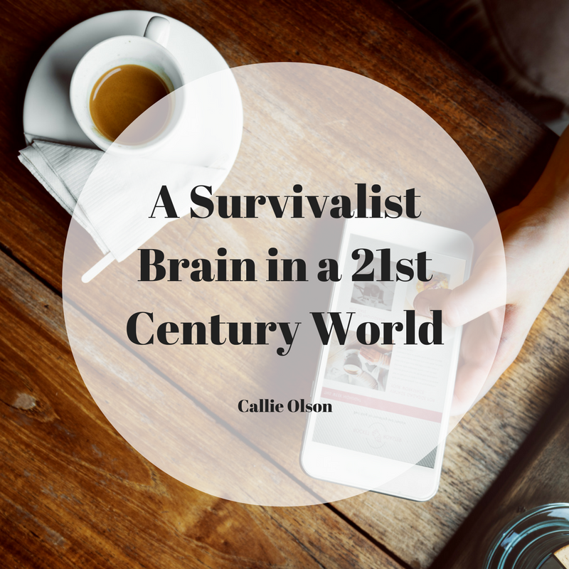 A Survivalist Brain In A 21st Century World