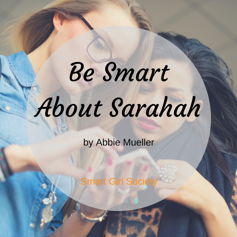 Be Smart About Sarahah