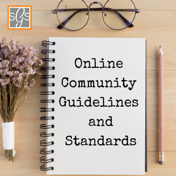 Online Community Guidelines and Standards