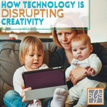How Technology Is Disrupting Creativity